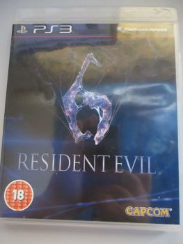 Resident Evil 6 - PS3 Playstation 3 Game