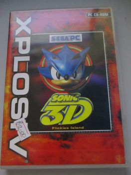 Sonic 3D - PC CD-Rom Game