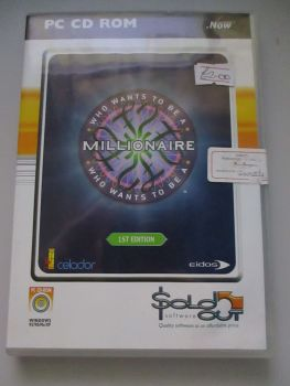 Who Wants To Be A Millionaire 1st Edition - PC CD-Rom Game