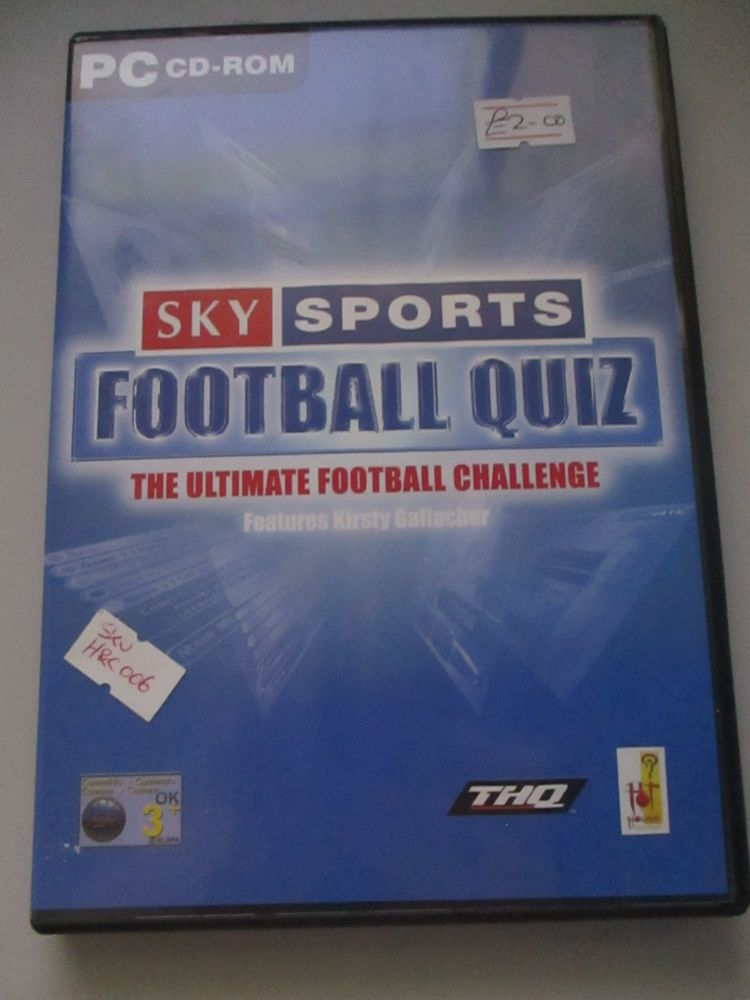 Sky Sports Football Quiz - PC CD-Rom Game