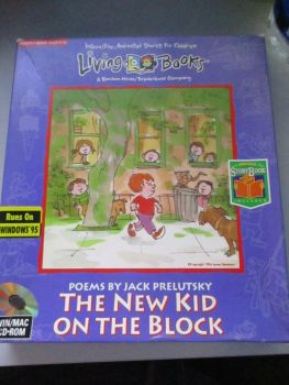 Living Books - The New Kid On The Block - Win Mac CD-Rom Game - Big Box Edition