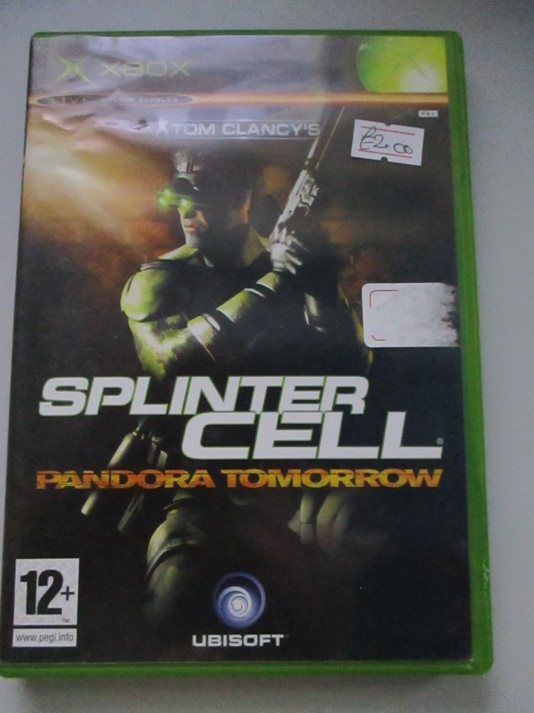 Tom Clancy's Splinter Cell Pandora Tomorrow - Xbox Original Game