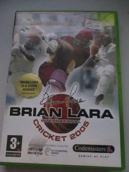 Brian Lara International Cricket 2005 - Xbox Original Game