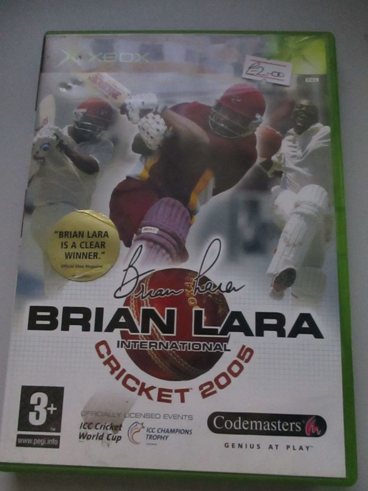 Brian Lara International Cricket 2005 - Xbox Original Game