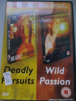 Double Bill Deadly Pursuits / Wild Passion - DVD