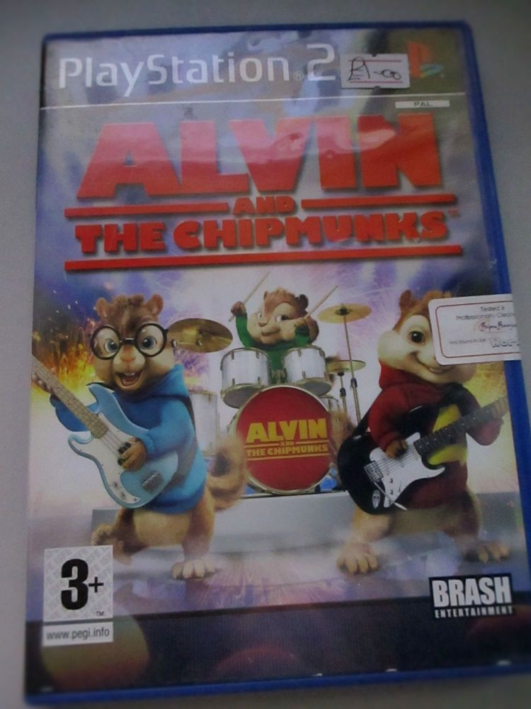 Alvin And The Chipmunks - PS2 Playstation 2 Game
