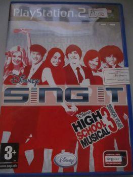 Disney Sing It: High School Musical 3: Senior Year - PS2 Playstation 2 Game