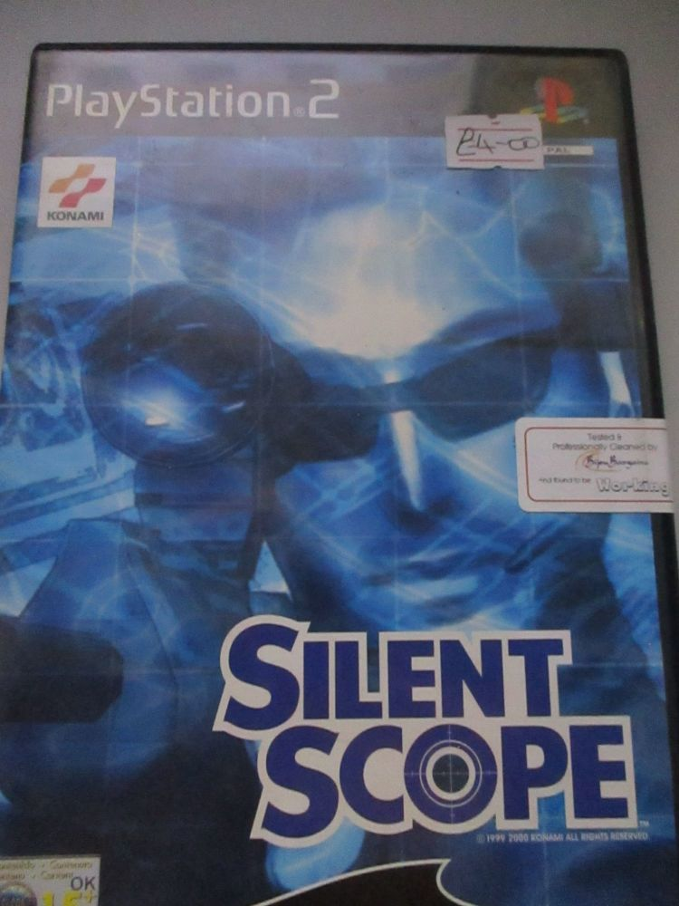 SIlent Scope - PS2 Playstation 2 Game