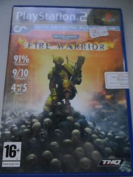 Warhammer 40,000: Fire Warrior - PS2 Playstation 2 Game