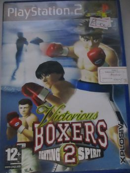 Victorious Boxers 2: Fighting Spirit - PS2 Playstation 2 Game