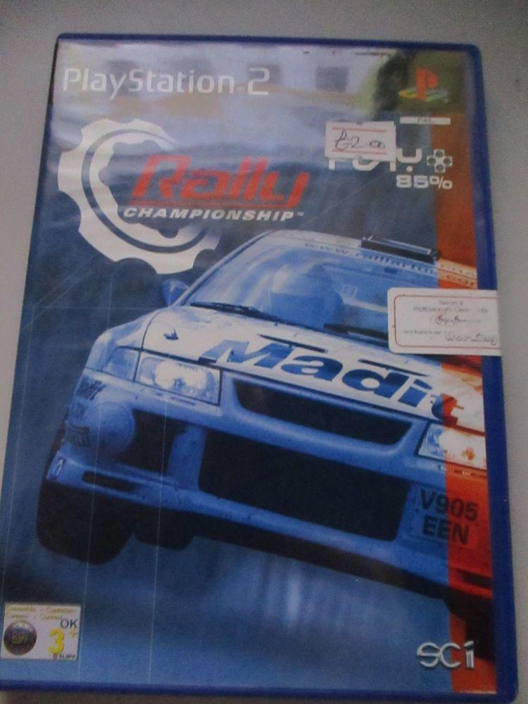 Rally Championship - PS2 Playstation 2 Game