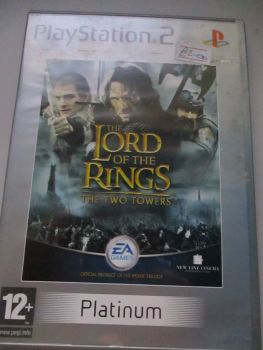 The Lord Of The Rings The Two Towers Platinum - PS2 Playstation 2 Game