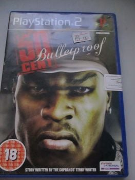 50 Cent Bulletproof - PS2 Playstation 2 Game