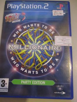 Who Wants To Be A Millionaire Party Edition - PS2 Playstation 2 Game