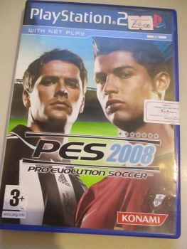 Pro Evolution Soccer 2008 - PS2 Playstation 2 Game