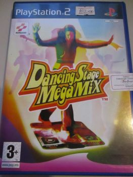 Dancing Stage MegaMix - PS2 Playstation 2 Game
