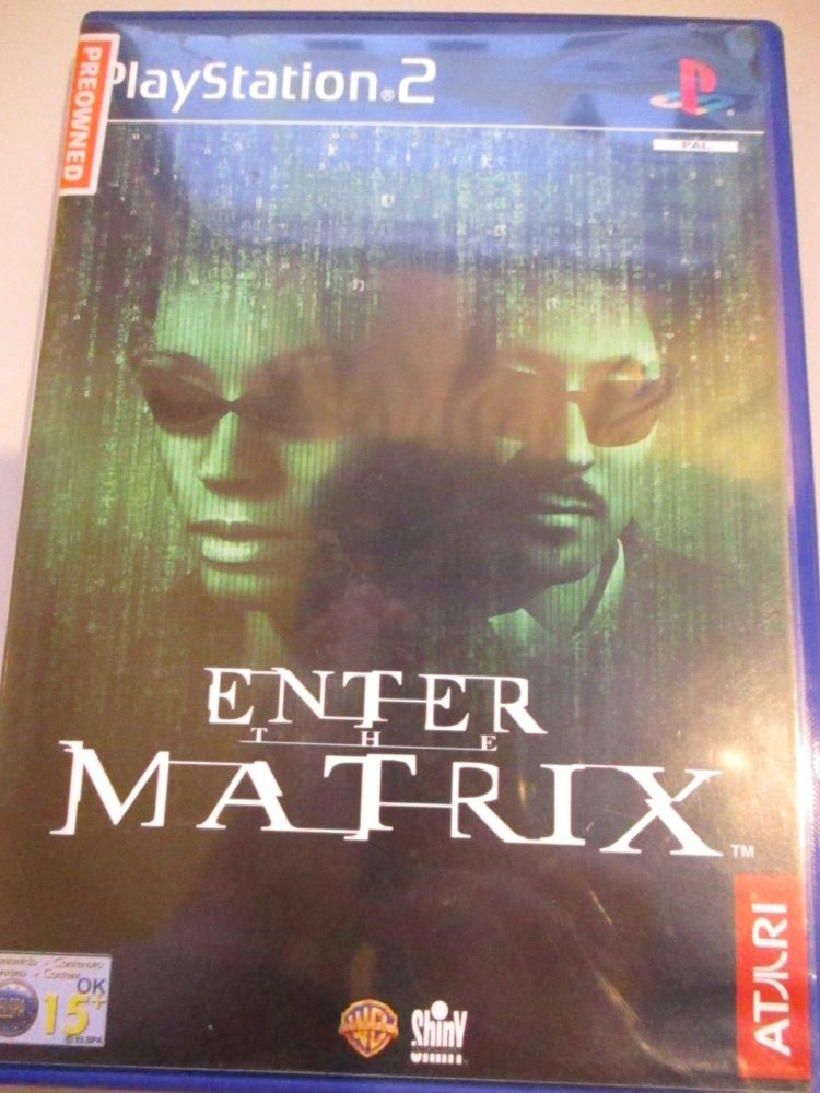 Enter The Matrix - PS2 Playstation 2 Game