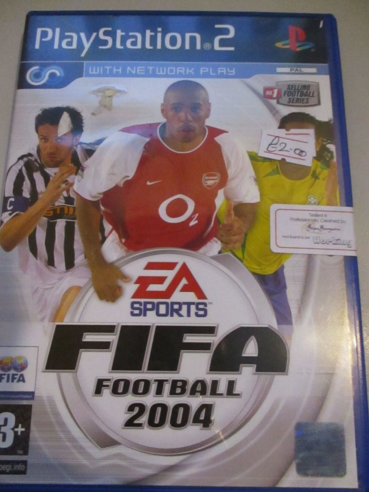 Fifa Football 2004 - PS2 Playstation 2 Game