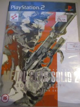 Metal Gear Solid 2: Sons Of Liberty - Special Edition - PS2 Playstation 2 Game