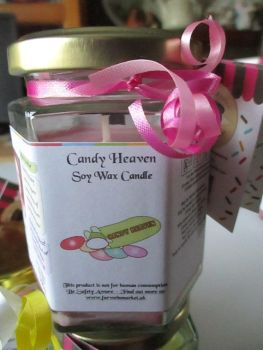 Candy Heaven Scented Soy Wax Candle 300g