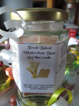 Fresh Baked Wholewheat Buns Scented Soy Wax Candle 300g