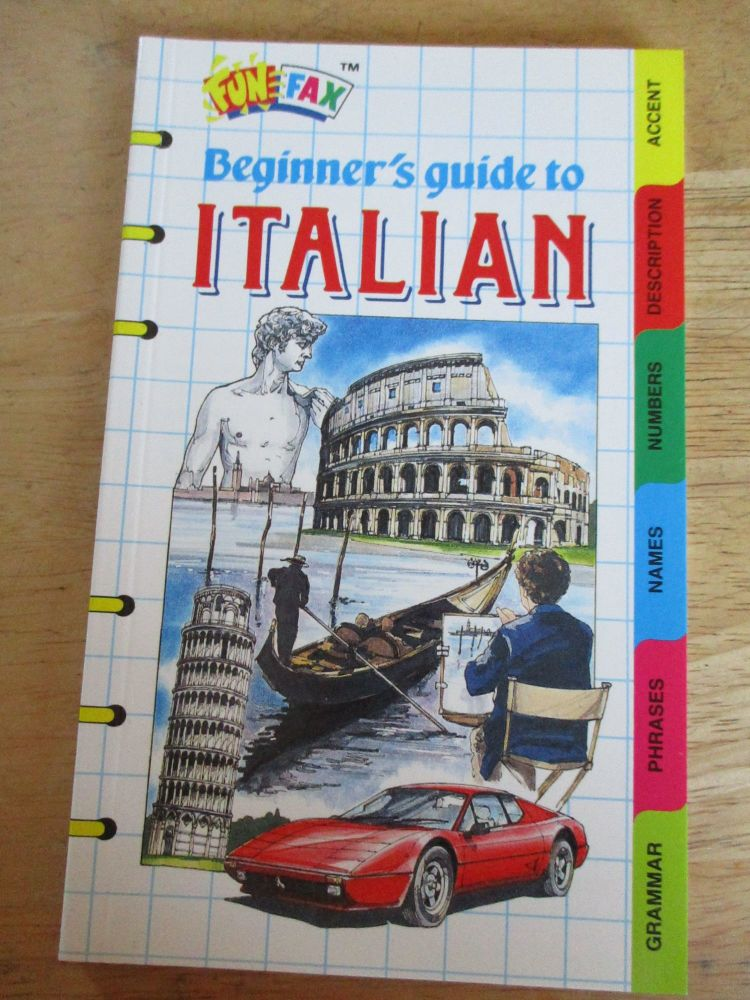 FunFax #43 - Beginners Guide To Italian - Paperback