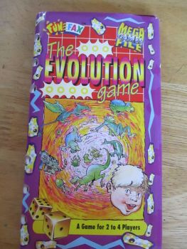 FunFax Mega Game File - The Evolution Game (2-4 Players) - Paperstock