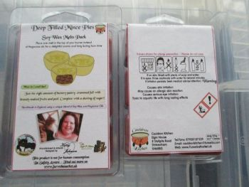 Deep Filled Mince Pies Scented Soy Wax Melts Pack