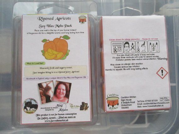 Ripened Apricots Scented Soy Wax Melts Pack