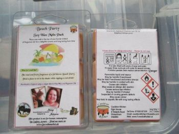 Beach Party Scented Soy Wax Melts Pack