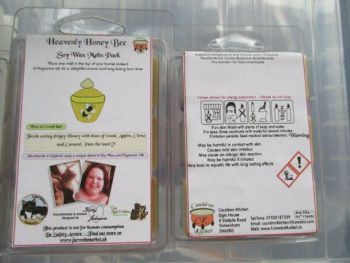 Heavenly Honey Bee Scented Soy Wax Melts Pack