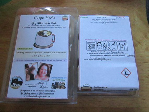 Cuppa Mocha Scented Soy Wax Melts Pack