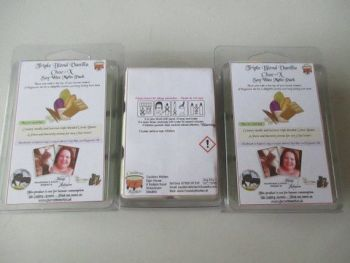 Triple Blend Vanilla Choc-X Scented Soy Wax Melts Pack
