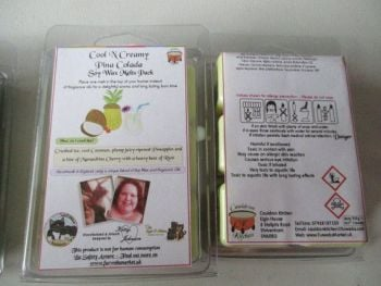 Cool N Creamy Pina Colada Scented Soy Wax Melts Pack