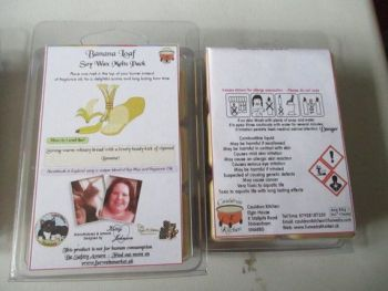 Banana Loaf Scented Soy Wax Melts Pack
