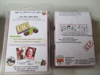 Apple & Blackcurrant Bake Scented Soy Wax Melts Pack