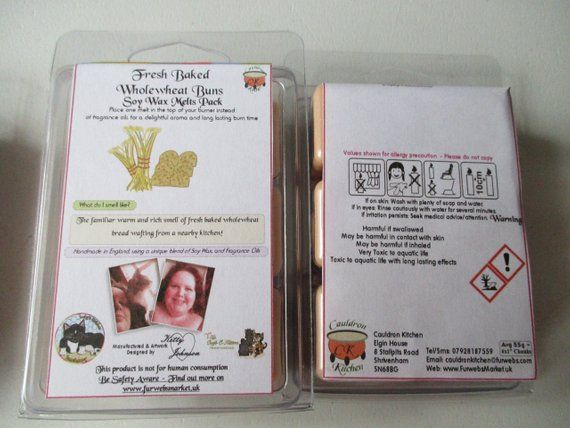 Fresh Baked Wholewheat Buns Scented Soy Wax Melts Pack