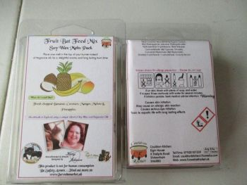 Fruit Bat Feed Mix Scented Soy Wax Melts Pack