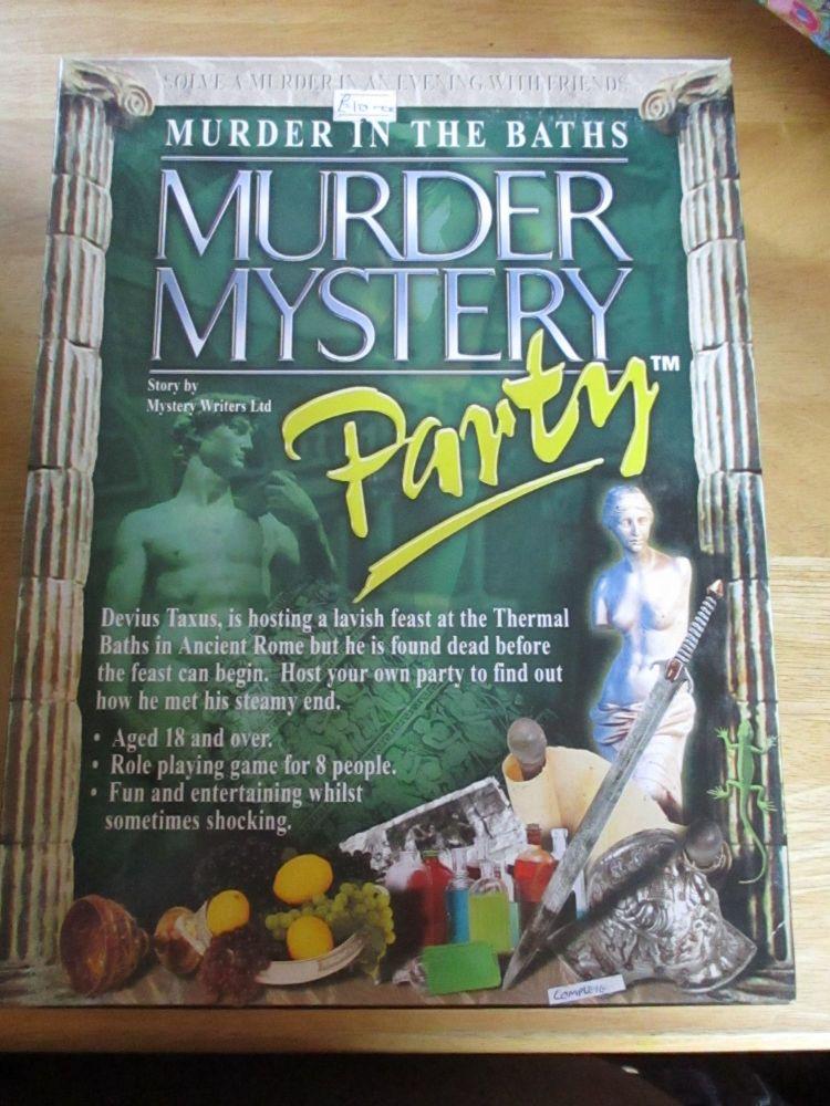 Murder In The Baths - Murder Mystery Party 18yrs+