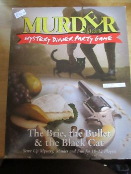 Murder Alacarte - The Brie, The Bullet & The Black Cat (some envelopes & invites missing)