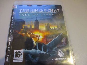 Turning Point - Fall Of Liberty - PS3 Playstation 3 Game