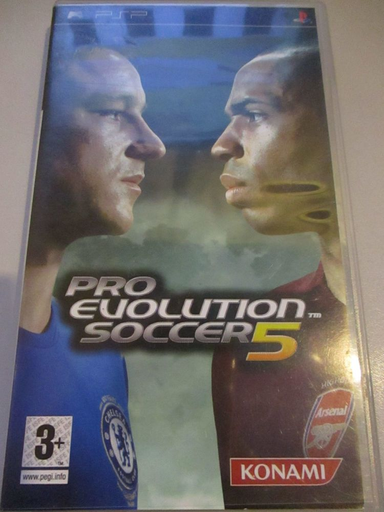 Pro Evolution Soccer 5 - PSP Playstation Portable Game