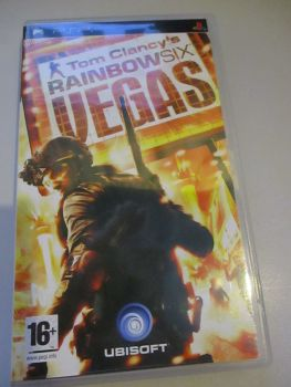 Tom Clancy's Rainbow Six Vegas - PSP Playstation Portable Game