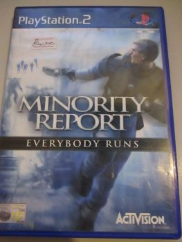 Minority Report - Everybody Runs - PS2 Playstation 2 Game