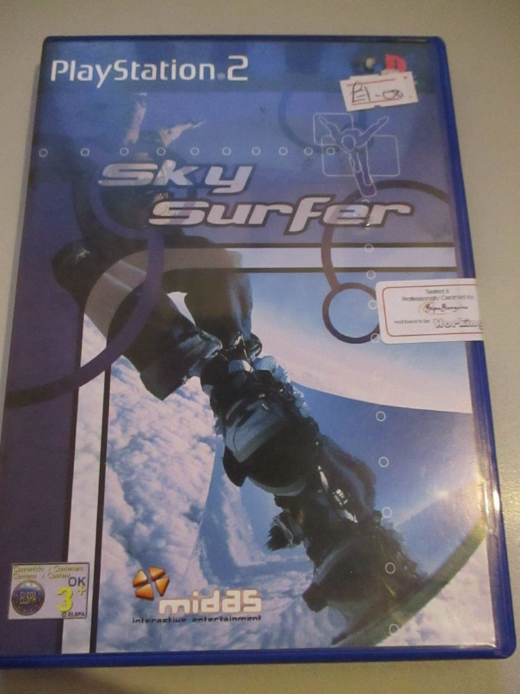 Sky Surfer - PS2 Playstation 2 Game