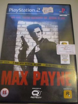 Max Payne - PS2 Playstation 2 Game