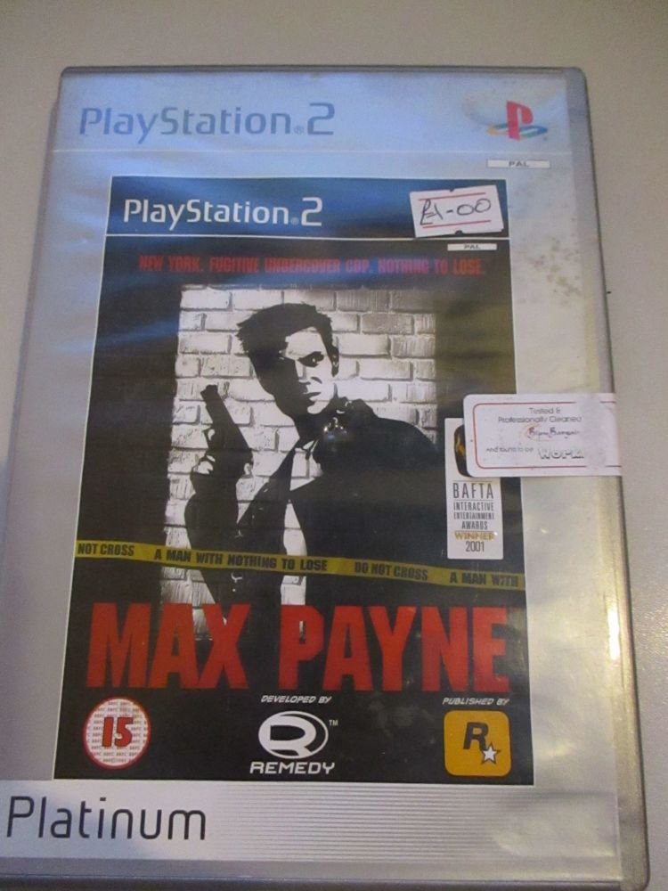 Max Payne - Platinum Edition - PS2 Playstation 2 Game