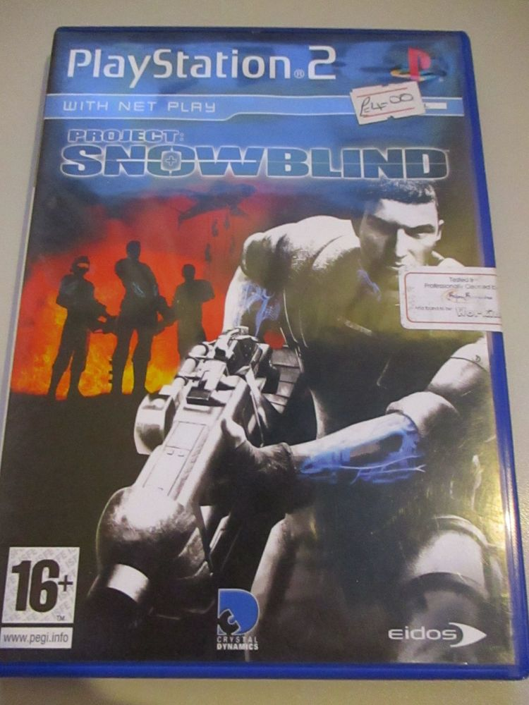 Project: Snowblind - PS2 Playstation 2 Game