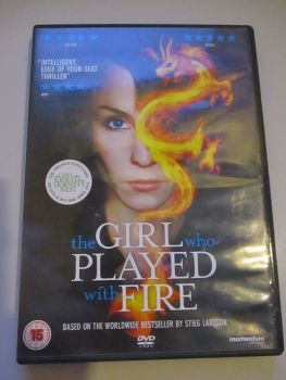 The Girl Who Played With Fire - DVD