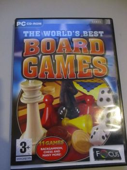 The Worlds Best Board Games - PC CD-Rom Game
